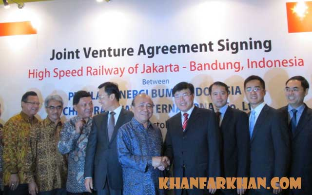 Join Venture Agreement Signing