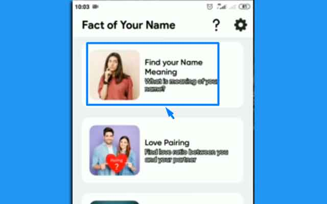 Pilih Find Your Name Meaning